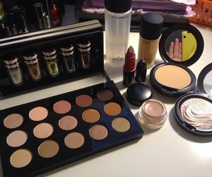 mac, makeup, and girl image