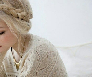 adorable, blonde, and vintage image