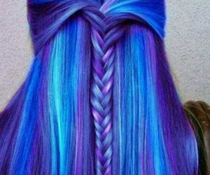 amazing, blue, and braid image