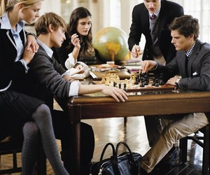 chess and preppy image