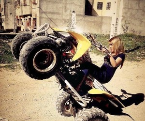 quad and girl image