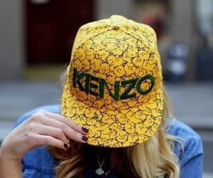 Kenzo, style, and yellow image