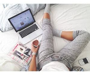 bed, coffee, and relax image
