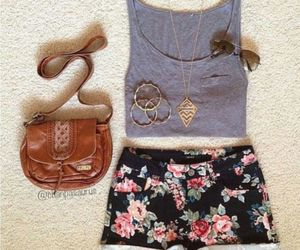 outfit, shorts, and fashion image