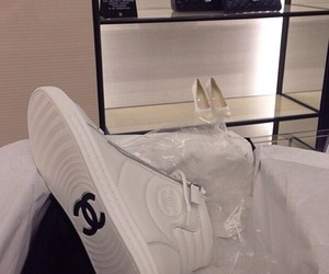 chanel, luxury, and shoes image