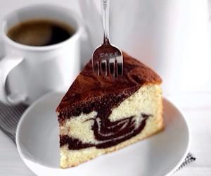 cake, food, and coffee image