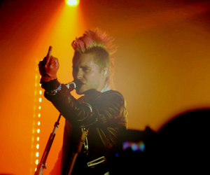 30 seconds to mars, jared leto, and Mohawk image
