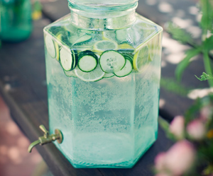 drink, summer, and water image