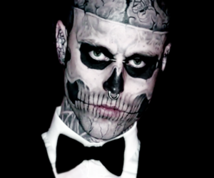 goth, gothic, and rick genest image