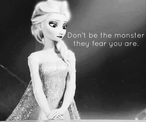 frozen, elsa, and monster image
