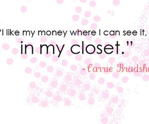 quote, closet, and money image