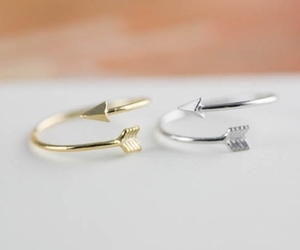 arrow, ring, and rings image