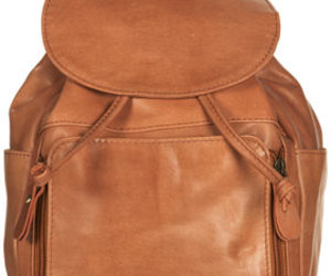 bag, brown, and leather image
