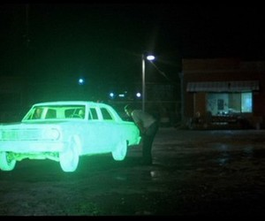 car, neon, and green image