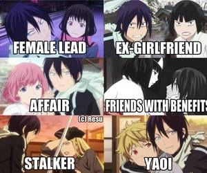 affair, yato, and friends image