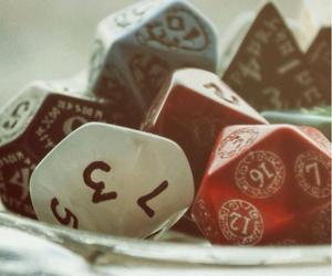 art, d&d, and dice image