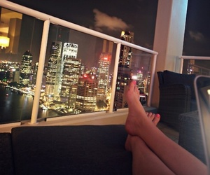 city, legs, and view image