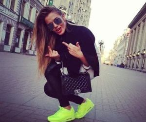 girl, style, and air max image