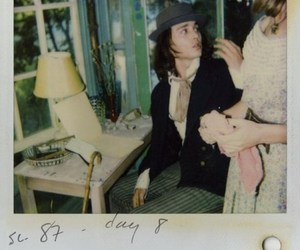 johnny depp, polaroid, and benny and joon image