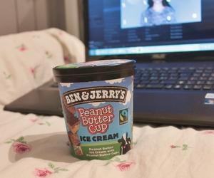 cozy, ben&jerry's, and icecream image
