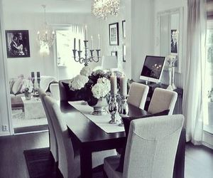 home, white, and luxury image