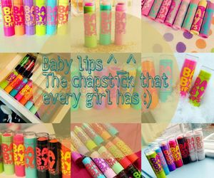 beauty, chapstick, and colorful image