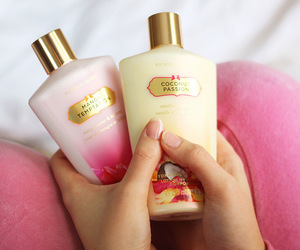 cream, lotion, and perfume image