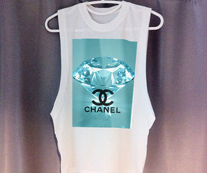 chanel, hipster, and shirt image