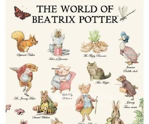 beatrix potter and vintage image