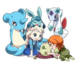 frozen elsa anna and pokemon y frozen image