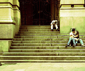 city, loneliness, and love image