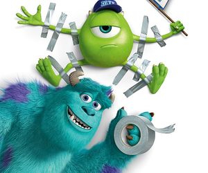 childhood, mike, and monsters inc. image