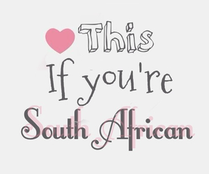 heart it, proud, and south africa image