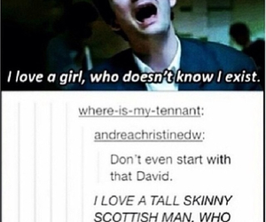 david tennant, doctor who, and exist image
