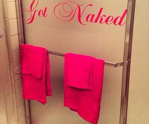 get naked shower image