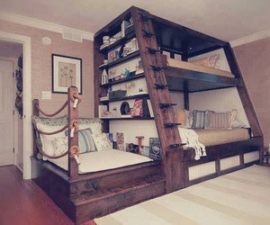 awesome, bed, and bedroom image