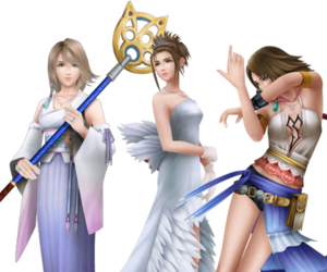 dress, ff, and final fantasy image
