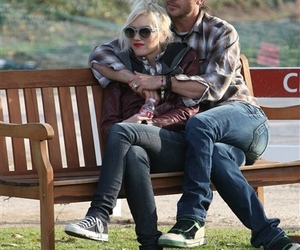 couple, gwen stefani, and gavin rossdale image