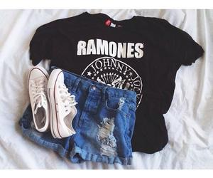 all stars, ramones, and clothes image