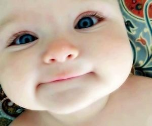 baby, eyes, and face image