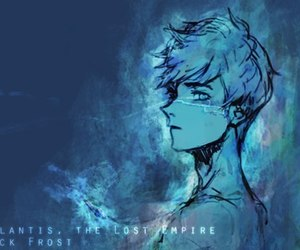art, jack frost, and rise of the guardians image