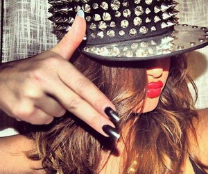 selena gomez, swag, and nails image