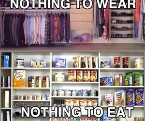 food, eat, and clothes image