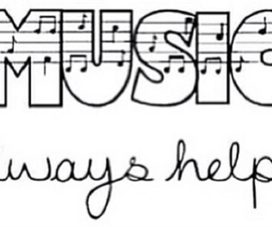music, overlay, and quote image