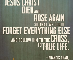 cross, Died, and everything image