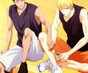 kuroko no basket, kise ryouta, and aomine daiki image