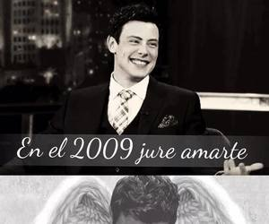 glee, cory monteith, and forever image