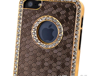 rhinestones, cute iphone case, and bling iphone case image