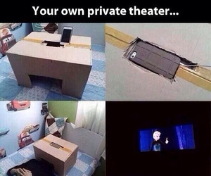 diy, theater, and funny image