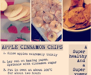 apple, Cinnamon, and chips image
